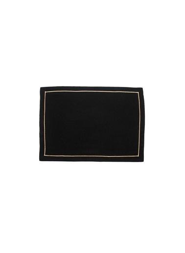 Golden Table Amerikan Servis Siyah